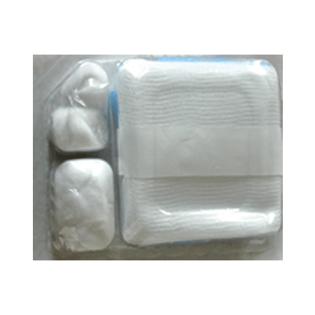 Small Dressing Tray With Gloves